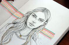 Sketchbook: Wonderfilled and awestruck