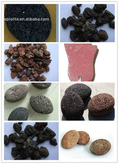 black garden lava stone /Volcanic rock/pumice stone for decoration