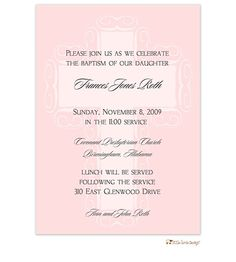Pink Fancy Cross Background Invitation Sale: 	40% Off at Checkout