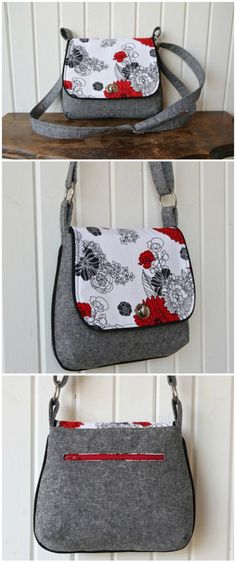 Except not mini Mini Messenger Bag - free sewing pattern. One of my favorite bags. Great size, looks great, love the piping, and of coursse, it's a free sewing pattern too. Purse Patterns, Sewing Patterns Free, Free Sewing, Free Pattern, Clothes Patterns, Sewing Clothes, Dress Patterns, Doll Clothes, Messenger Bag Patterns