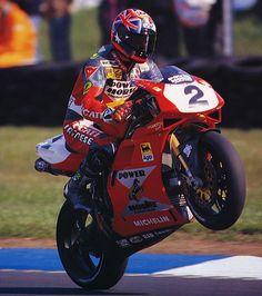 troy corser - ducati 916-1996