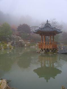 Garden of Morning Calm, Gyeonggi-do, South Korea South Korean Won, Asia, Booking Sites, Korean Peninsula, Seoul Korea, Places To See, Cool Photos, Beautiful Places, Scenery