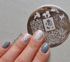 stamping plate review + manicure