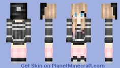 The Minecraft 200 SUBS O; Skin was contributed by KawaiiCass. Minecraft Girl Skins, Minecraft Pe, Youtubers, Gaming, Kawaii, Characters, Comics, Girls, Making Yarn Bracelets
