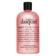 All of these body washes are awesome, and the best thing is that the smell leaves as soon as you walk out of the shower..clean, and ready for perfume...but the aroma while in the shower is AMAZING.  Best of both worlds!!!