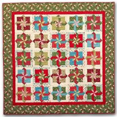 Fancy Packages quilt pattern by Nancy Rink Designs   designer pattern