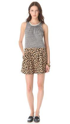 Sea Leopard & Jersey Dress