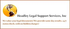 Headley Legal Support Services is composed of a team of dedicated and trusted professionals who are experts in Legal Support. Legal Support, Courier Service, Our Values, A Team, Florida, Thoughts, The Florida, Ideas