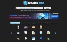 Icones es un buscador de iconos libres para descargar y utilizar en nuestros proyectos y trabajos. Su base de datos se compone de más de 20.000 gráficos.