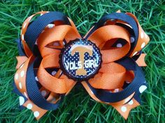 Tennessee Vols Girl Collegiate Bow by divinebows on Etsy