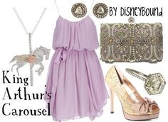 king arthur's carousel by disney bound