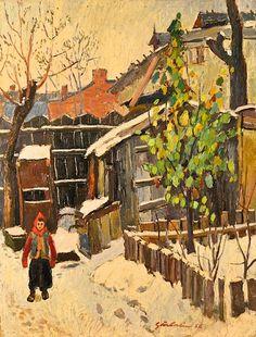Nicolae Gârbaciu - Iarna
