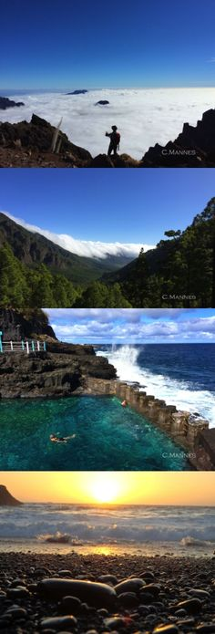 Beautiful landscape of La Palma, Canary Islands, Spain