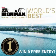 Win a FREE Entry to Ironman New Zealand (Full) – Race date 3 March 2018