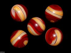 """Alas...another marble I loved & lost on eBay, December 2013, went for $78.99.  AKRO AGATE 3-color 9/16"""" corkscrew, """"wet"""" mint surface.  I hope it's found a good home...."""