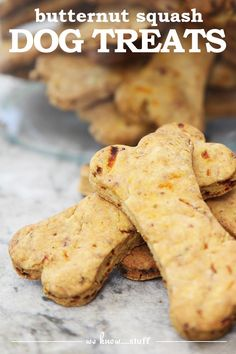 February 23rd is International Dog Biscuit Appreciation Day. Make some of our butternut squash dog treats and celebrate today with your dog!