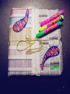 Packaging cuadernos Cuchara♥