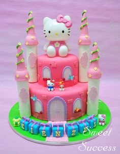 Hello Kitty Cake - Royal Princess 4