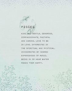 Pisces Traits, Zodiac Signs Pisces, Pisces Quotes, Zodiac Signs Astrology, Zodiac Sign Facts, Virgo And Pisces Compatibility, Beth Moore, Leo, Pisces Star Sign