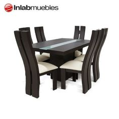 Wooden Dining Table Designs, Dinning Table Design, Dining Room Furniture Design, Simple Dining Table, Unique Dining Tables, Wooden Dining Tables, Elegant Dining, Dining Table Chairs, Dining Furniture