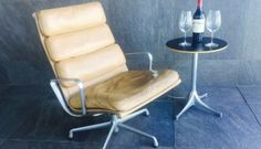 Eames-Soft-Pad-loungers  #Eames #builtolast How it looks after many years:  great!