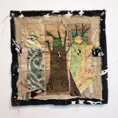 Jude Hill, We are all part of a larger magic, 13 June Hand stitched.