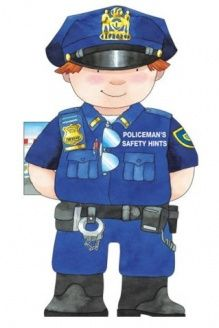 Policeman's Safety Hints (Little People Shape Books) , 978-0764160196, Giovanni Caviezel, Barron's Educational Series