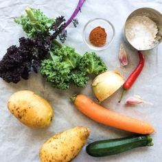 Potato cakes Kale courgette Potato cakes greenflatkitchen@wordpress.com