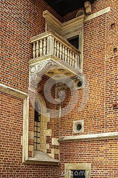 Old stone balcony stock image. Image of european, balcony - 69296423 Old Stone, Architecture Details, Balcony, Stock Photos, Image, Balconies