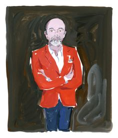 "Jean Philippe Delhomme | Christian Louboutin From ""The Icon and the Iconoclasts"" Celebrating Monogram Louis Vuitton"