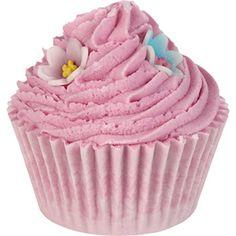 Bade-Cupcake PINKY & PERKY BATH BRULEE von Bomb Cosmetics MIK Funshopping