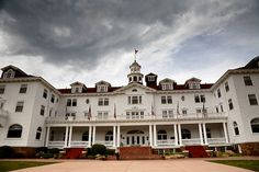 The Stanley Hotel...haunted inspiration for Stephen King's The Shining