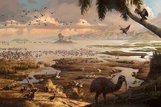 MIOCENE NEW ZEALAND: SAINT BATHAN'S LAKE by Tom Simpson