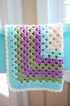 Etsy - crochet baby blanket