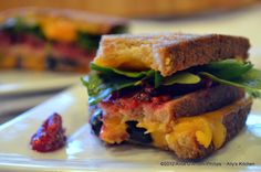 The Gatsby Grilled Cheese sandwich a South African food