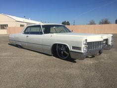 1966 Cadillac Coupe Deville Bagged Custom Sled