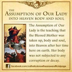 Answered prayers the assumption of the lamb