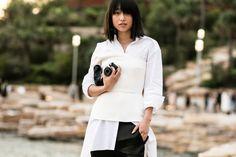 Street look à la Fashion Week Croisière 2017 de Sydney