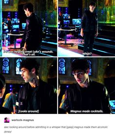 Alec can never hide things from Izzy.