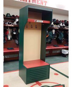Custom #nhl Style Equipment Locker
