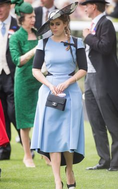 Princess Beatrice of York attends day 3 'Ladies Day' of Royal Ascot 2017 at Ascot Racecourse on June 22, 2017 in Ascot, England.