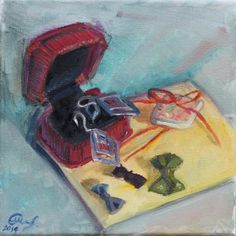 Check out this item in my Etsy shop https://www.etsy.com/listing/198495765/original-small-oil-painting-still-life