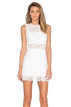 8f33d2fd209c Karina Grimaldi Felicia Mini Dress in White Lace Beautiful dress that was  bought on revolve for graduation photos! It has only been worn once for  maybe two ...
