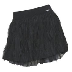 Black Tiered Emo Gothic Burlesque Fashion Micro Mini Tutu Skirt Women SKU-01015