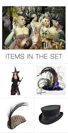 """The Coven Committee"" by thisisinteresting ❤ liked on Polyvore featuring art"