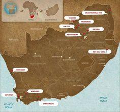 South Africa - rhinoafrica.com : les hauts lieux du #tourisme sud africain.