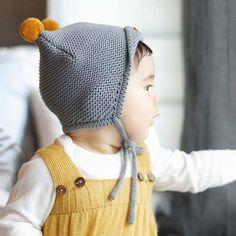 pom pom knit baby hat by hayley & co | notonthehighstreet.com