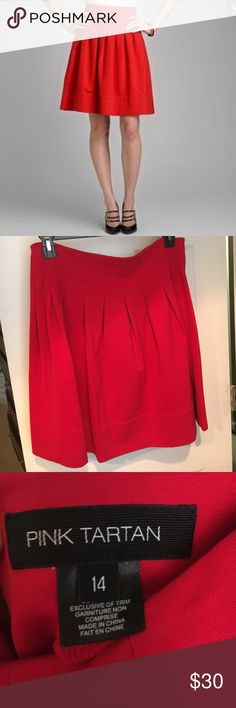 Pink Tartan red pleated skirt Pink Tartan red pleated skirt Pink Tartan Skirts