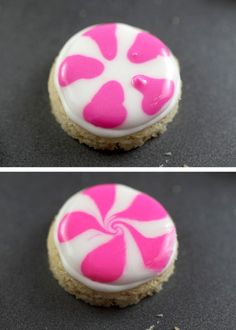 How to make Peppermint Candy Sugar Cookies with Royal Icing ... | Cookie Inspiration