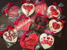 Shipping to a couple of my favorite valentines! - See more of our cookies at http://www.ctcookietreats.com